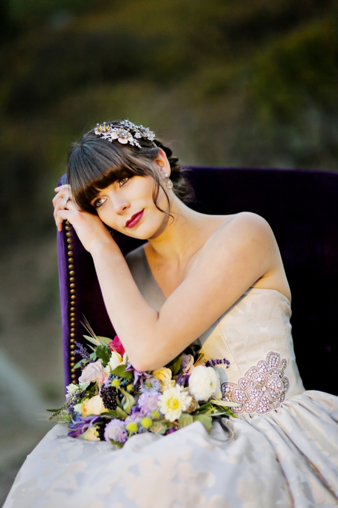 Stunning fall bride