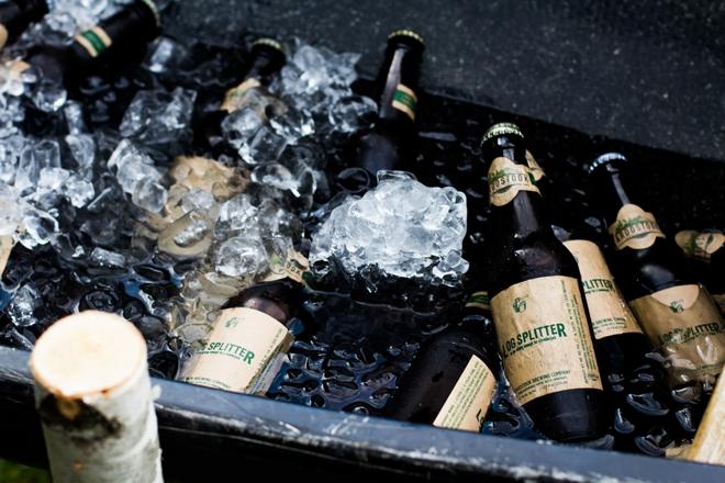 Custom wedding beer
