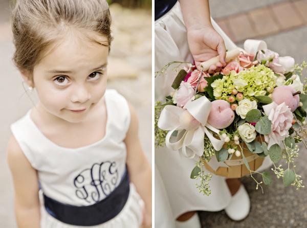 Darling little flower girl