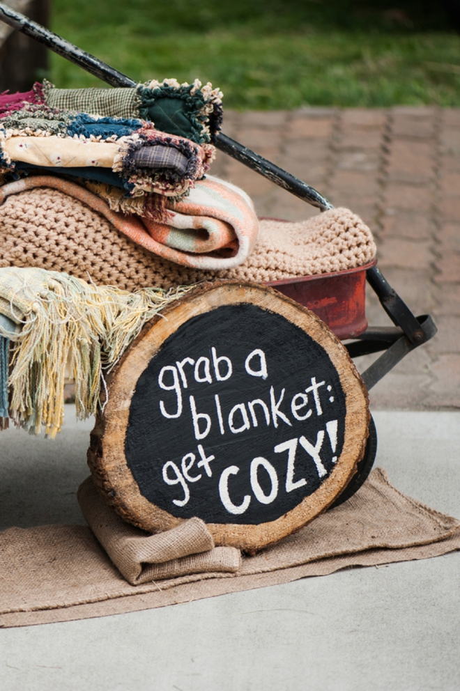 Grab a blanket and get cozy.