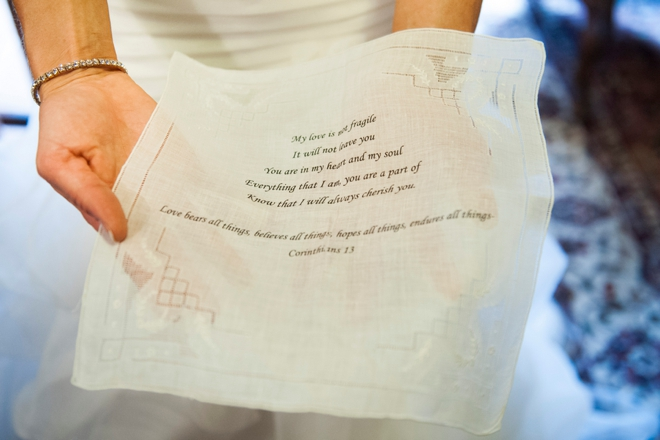 Wedding handkercheif