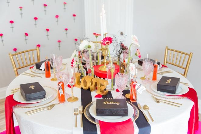 Pink, champagne Bridal brunch ideas