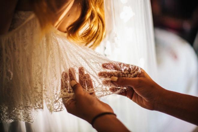 Gorgeous, boho-chic wedding