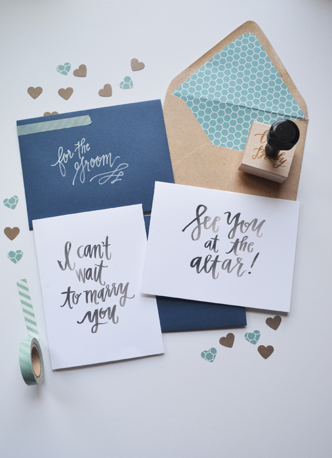 "Free ""wedding day card"" download and print files from Magnolia Letter Arts"