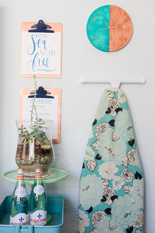 Something Turquoise Craft Room and Blog Office