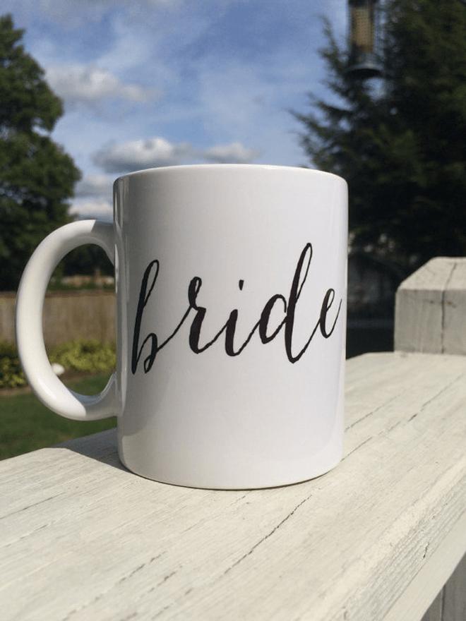 Darling Bride Coffee Mug