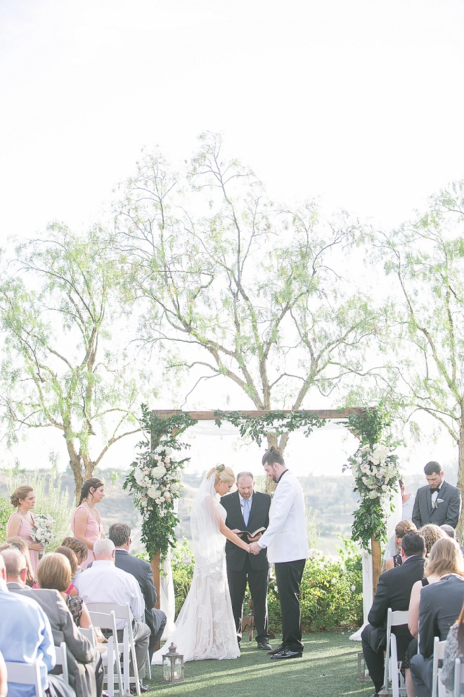 We love this sweet southern California wedding!