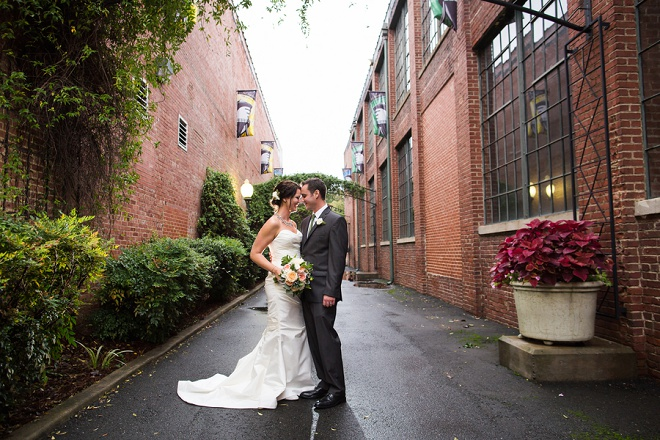 We're swooning over this classic rustic DIY wedding!