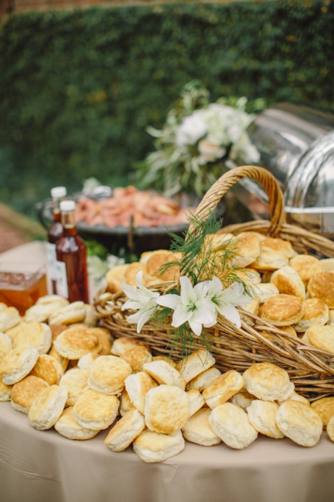 Awesome idea for a wedding biscuit bar!