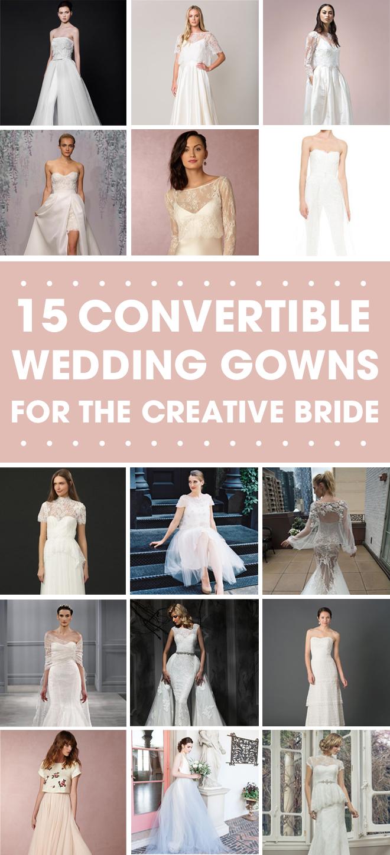 Large Of Convertible Wedding Dress