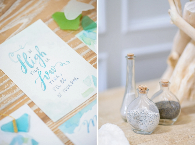 In LOVE with this gorgeous watercolor invitation set! Stunning!