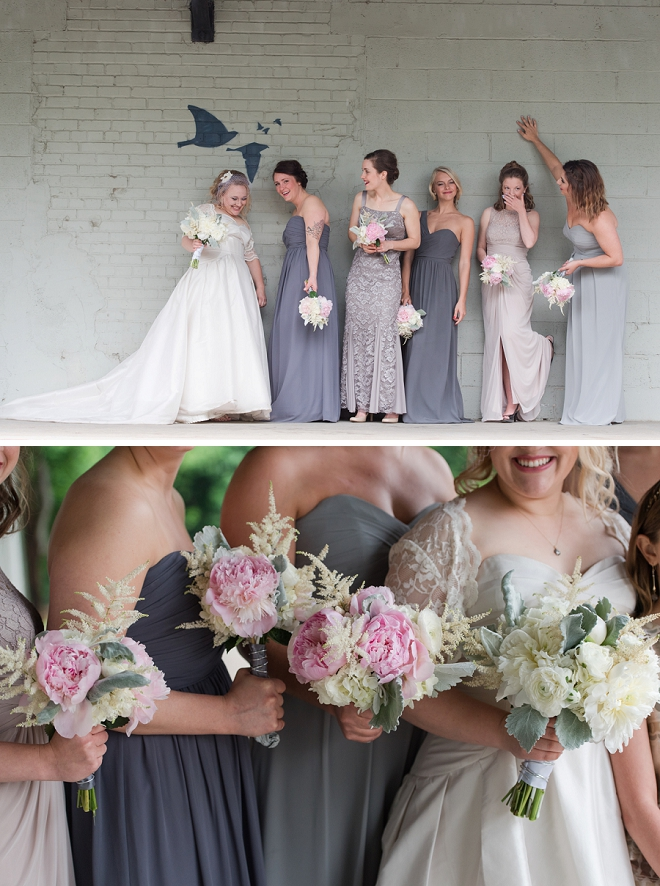 We love this darling Bride and her Bridesmaid's looking pretty!