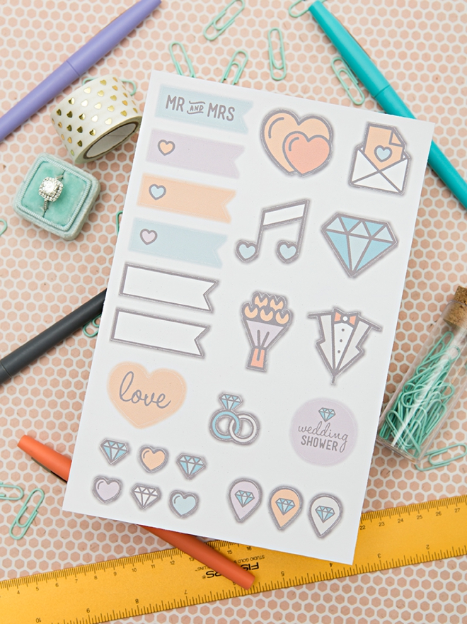 how to cut out stickers in cricut