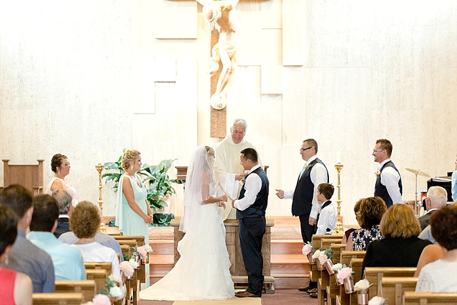 Such a SWEET traditional ceremony!