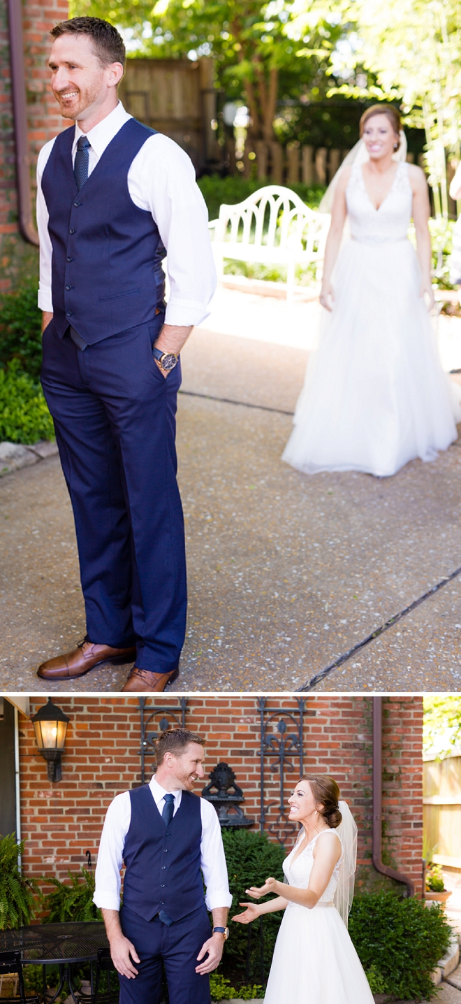 We're obsessed with this amazing first look!!