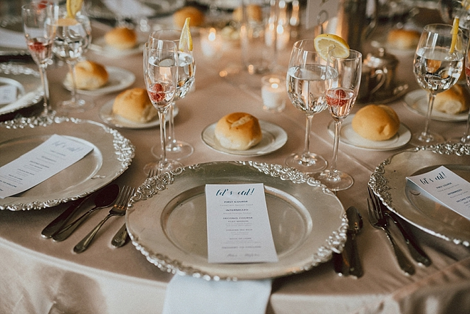 We're crushing on this couple's romantic and super glam reception!