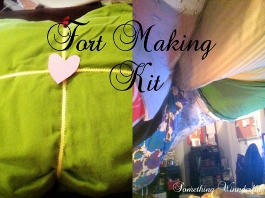 Fort Making Kit from Something Winnderful