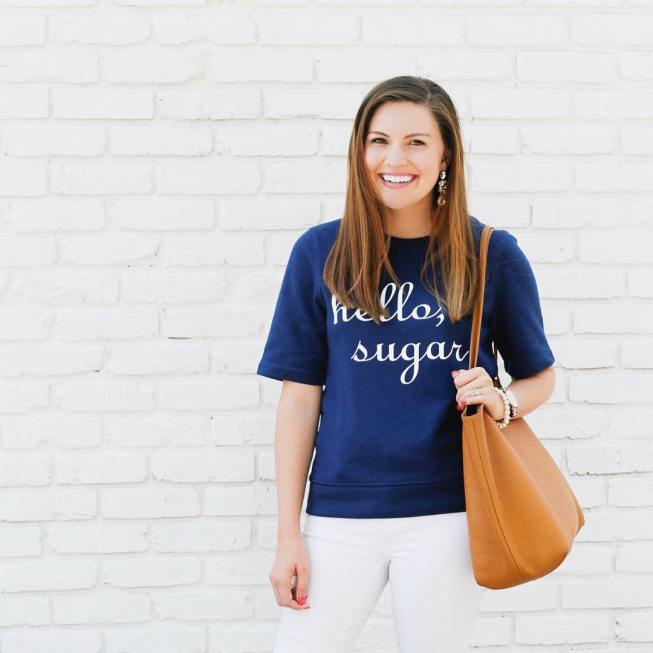Hello, sugar! Shop this darling sweatshirt and a few other @draperjames favorites by signing up for @liketoknow.it and liking this picture! http://liketk.it/2sTti #liketkit