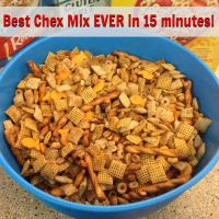 Best Chex Mix Ever - done in 15 minutes!