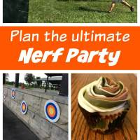The Ultimate Nerf Battle Birthday Party