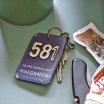 Valdanos duplex room keys