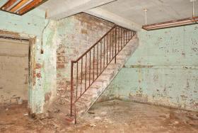Forest Haven basement of Elm Cottage