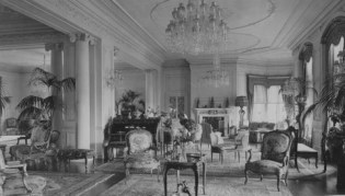 Pirrie drawing room, circa 1920s