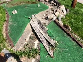 Irish Hills Towers mini golf