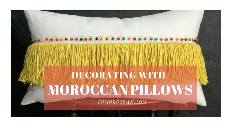 Moroccan Pillows:  Gorgeous Decorating Ideas & Inspirations