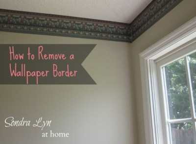 Scenery Wallpaper: How To Remove Wallpaper Border