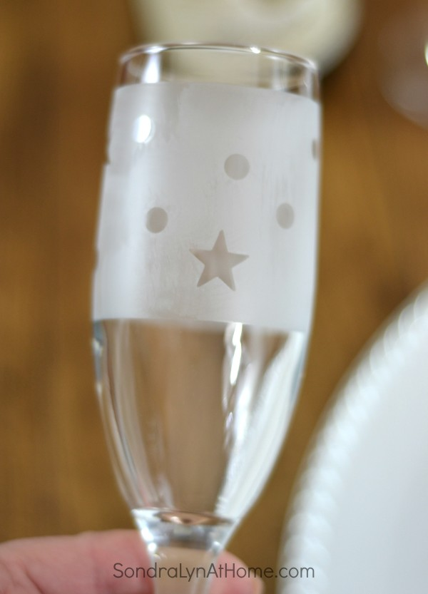 Etched Glass Champagne Flutes - Sondra Lyn at Home.com