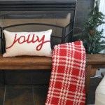 Christmas Family Room – 'All Through the House' Tour