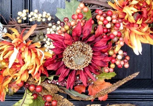 How to Make a Fabulous Fall Wreath