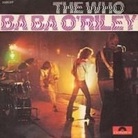 baba o'riley - the who single cover