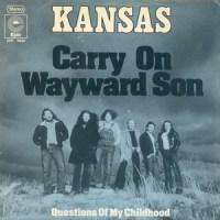 Carry On Wayward Son - Kansas single cover