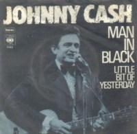 Man in Black - Johnny Cash single cover