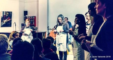 2015'XII. Concierto Bueno por Conocer.8, Función Lenguaje (Madrid). 'The Time in a Thread' por el CoroDelantal