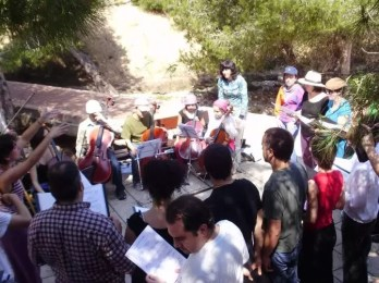 2010'V'7. Gira VBL - ensayo en la playa de La Mata (Torrevieja)