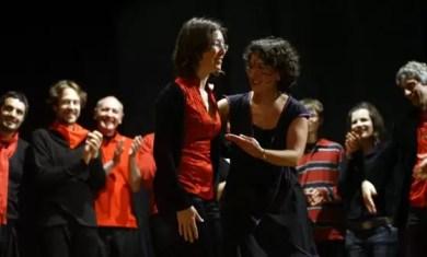 2010'V'9. Gira VBL - Almansa - Laura, directora de los chelistas