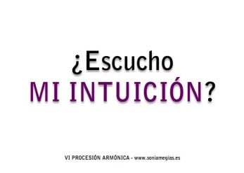 2014'IV'2. Madrid. VI Procesión armónica - pegatina INTUICIÓN