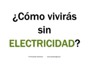 2013'II'28. Madrid. III Procesión armónica - pegatina ELECTRICIDAD