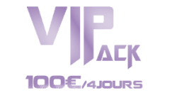 Location Sono Pack VIP 100€ / 4jours