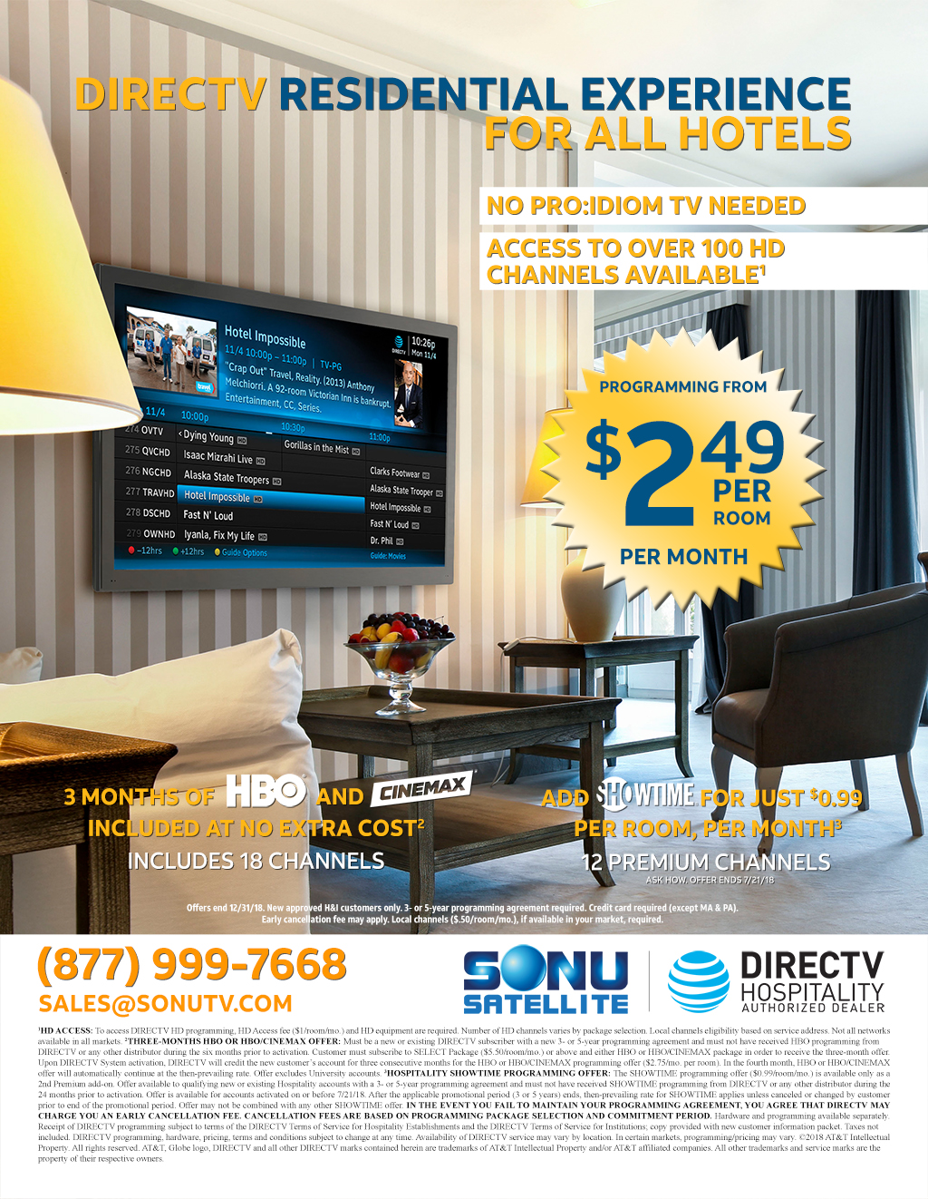 Fullsize Of Directv For Business