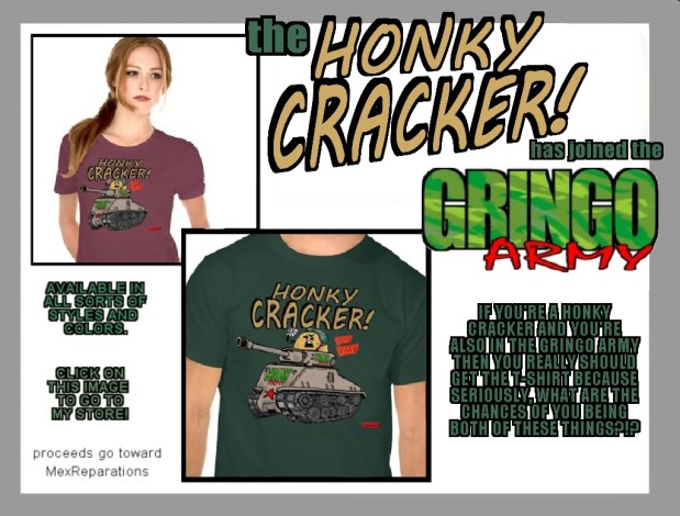 zazzle-ad-HONKY-GRINGO-ARMY-white