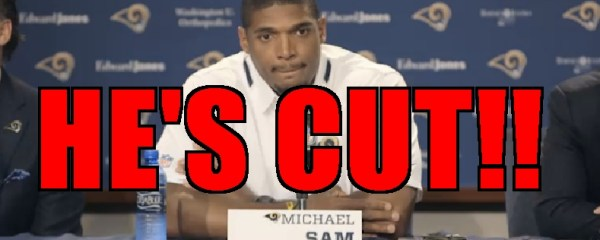 michael sam cut