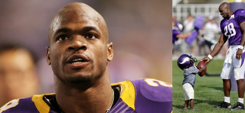 adrian peterson switch-kid