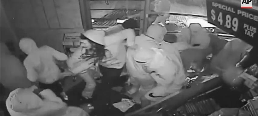 trayvon martin ferguson looters