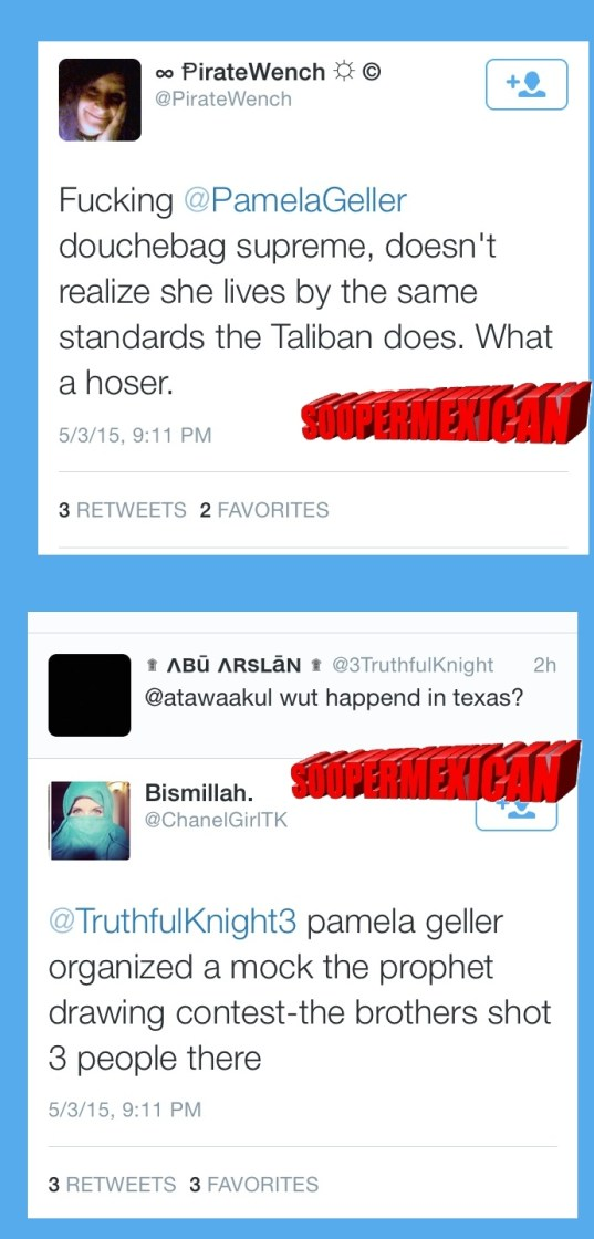 Garland tweets muslims blank big 08