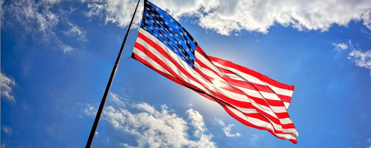 american flag patriotic