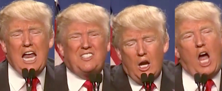 many faces of donald Trump 01